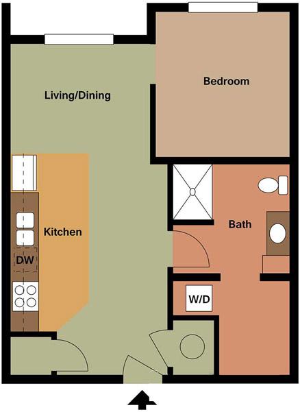 Centerline Apartments - Floorplan - MARGARET
