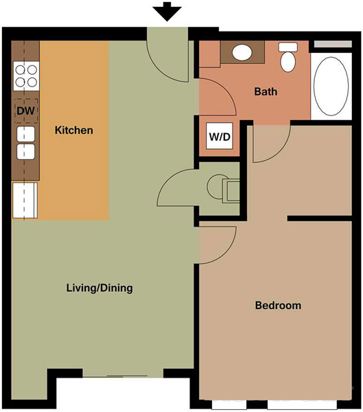 Centerline Apartments - Floorplan - GEORGIA