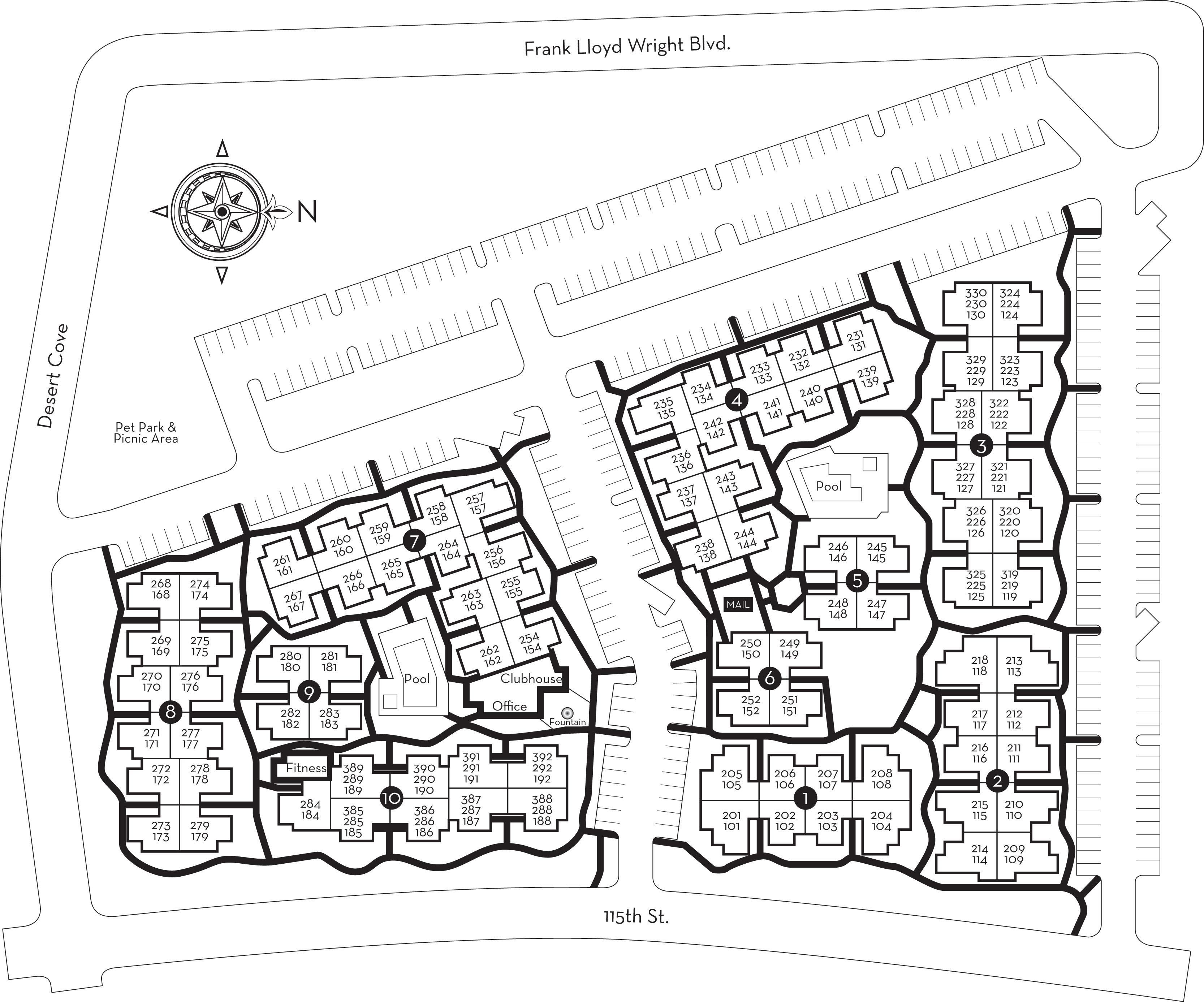 Centerra Site Plan