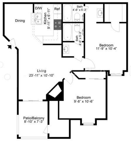 Floorplan - 2A image