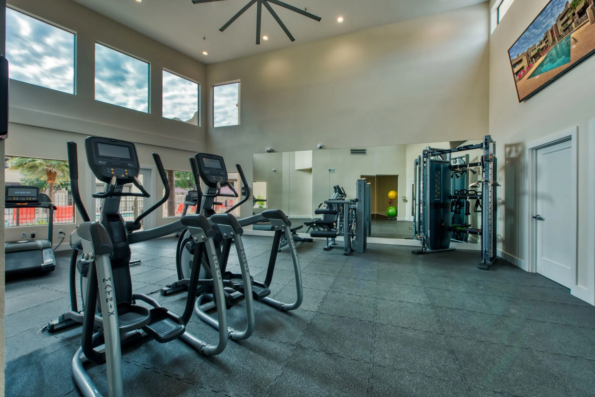 Fitness Center at Centerra Apartments in Scottsdale, AZ