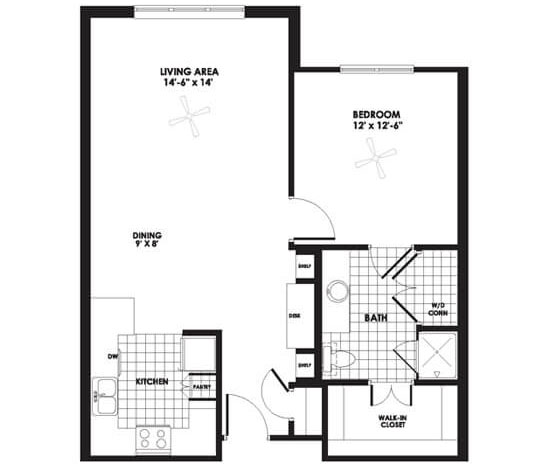 Floorplan - Apartment B image