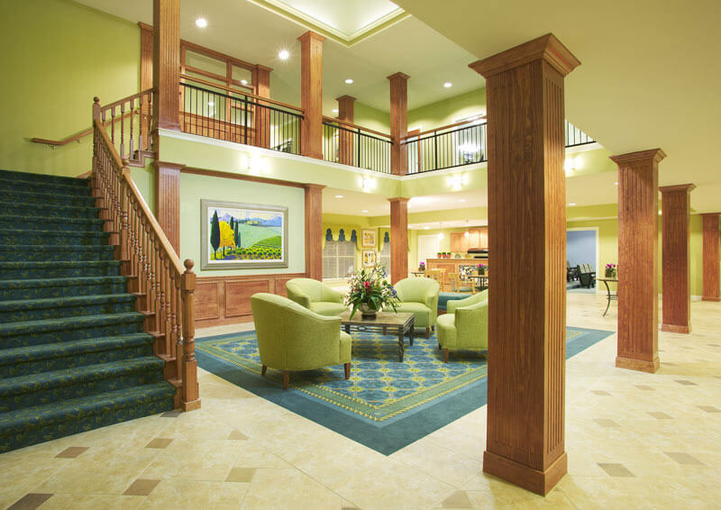 Two-Story Clubhouse at Champions Cove Apartments in Duncanville, TX