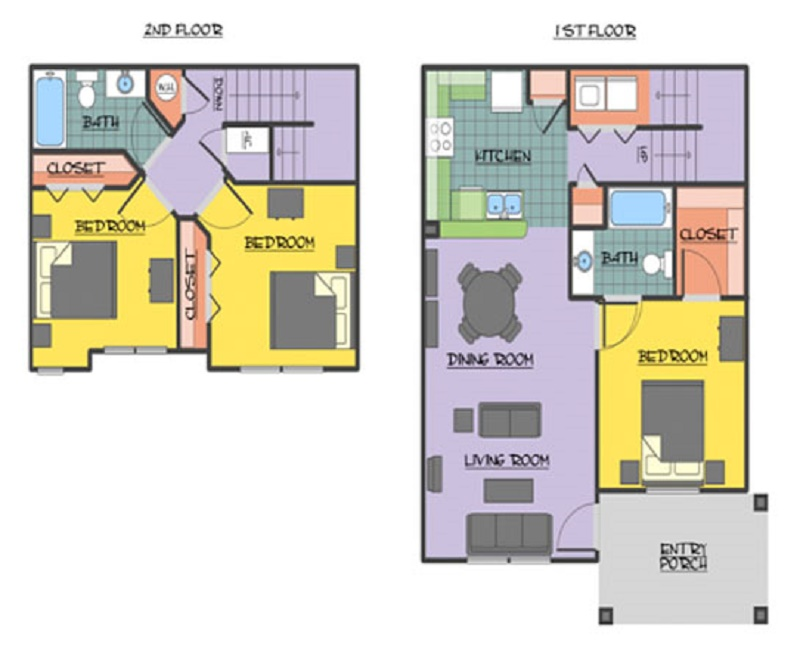 Chapel Ridge of Johnston - Floorplan - Echo