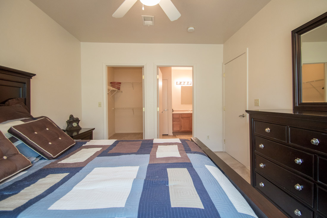 Spacious Bedrooms at Chapel Ridge of Johnston Apartments in Johnston, IA