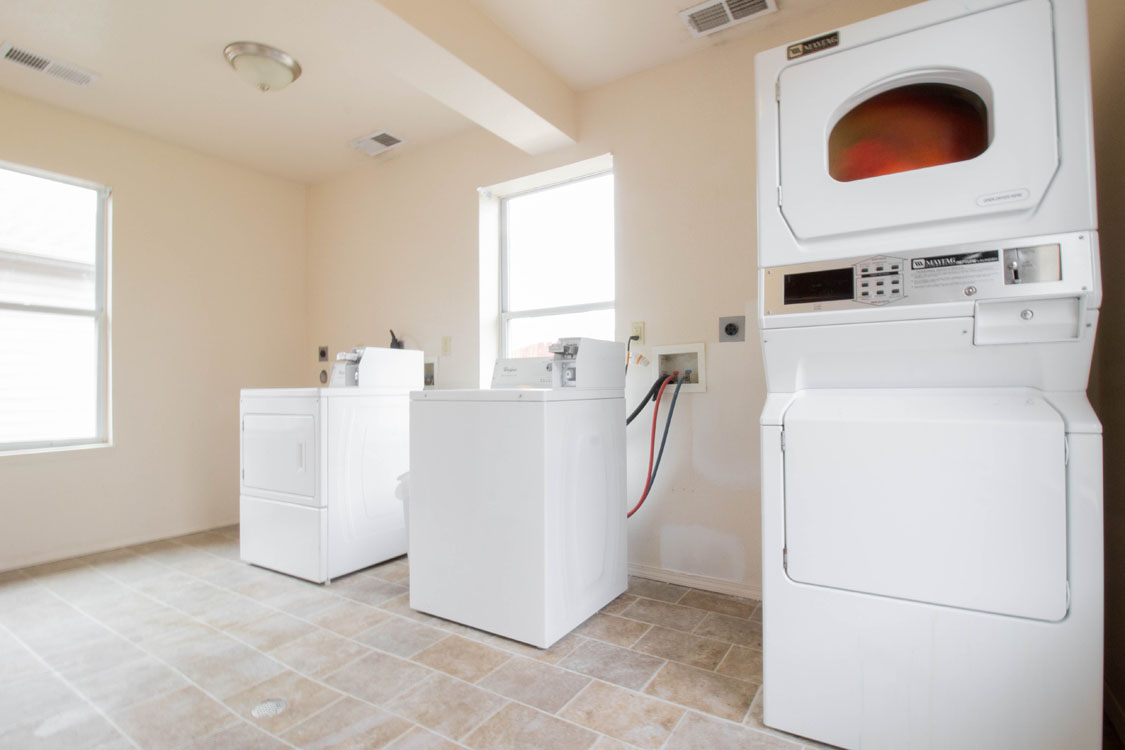 Full-Size Washer and Dryer Connection at Chapel Ridge of Johnston in Johnston, IA