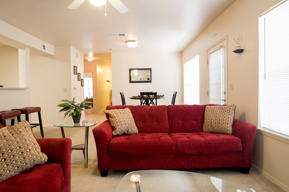 Open Floor Plans at Chapel Ridge of Johnston Apartments in Johnston, IA