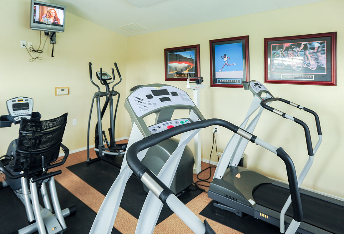Fitness Center at Chapel Ridge of Council Bluffs Apartments in Council Bluffs, IA
