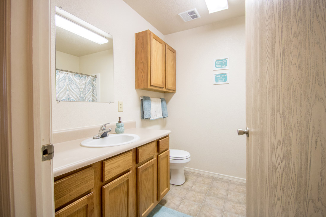 Spacious Bathrooms at Chapel Ridge of Marion Apartments in Marion, IA