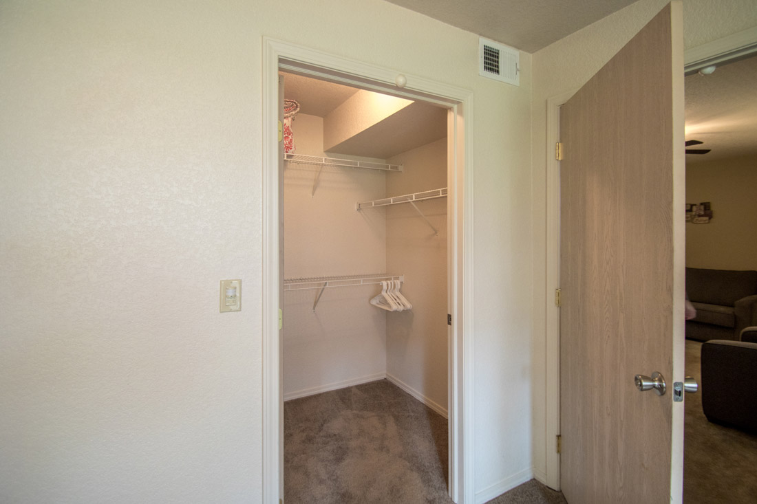 Walk-In Closets at Chapel Ridge of Marion Apartments in Marion, IA