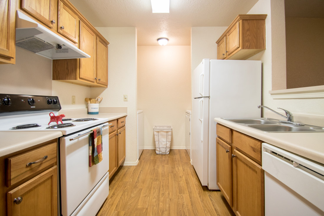 Updated Kitchen Appliances at Chapel Ridge of Marion Apartments in Marion, IA