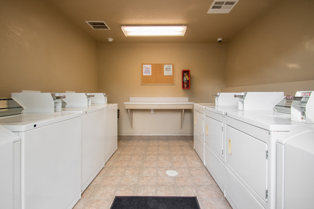 Laundry Facility with Washer and Dryers at Chapel Ridge of Marion Apartments in Marion, IA