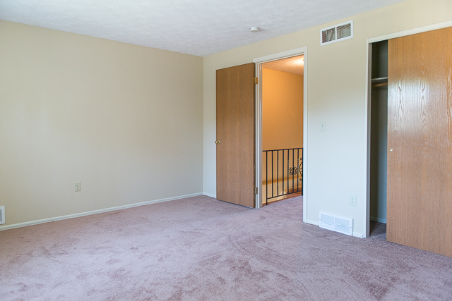 Master Bedroom at Chartwell Townhouses Estates in Rochester, NY