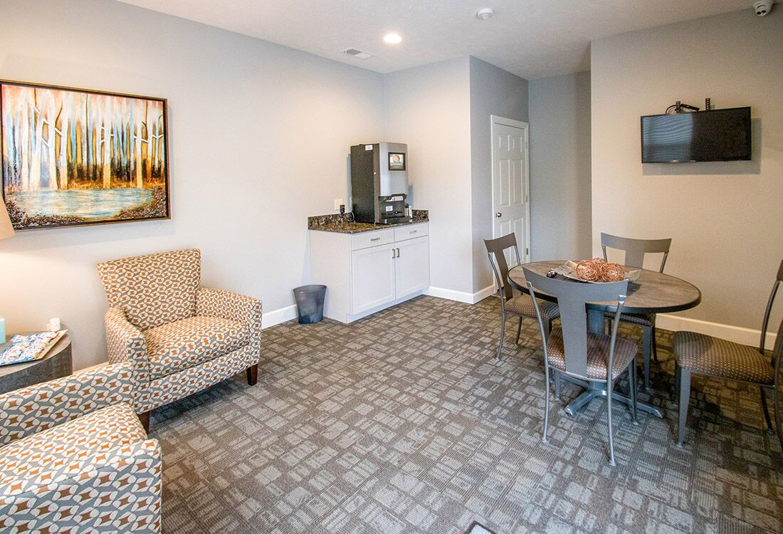 Resident Clubhouse at Chateau at Hillsborough Apartments in Omaha, NE