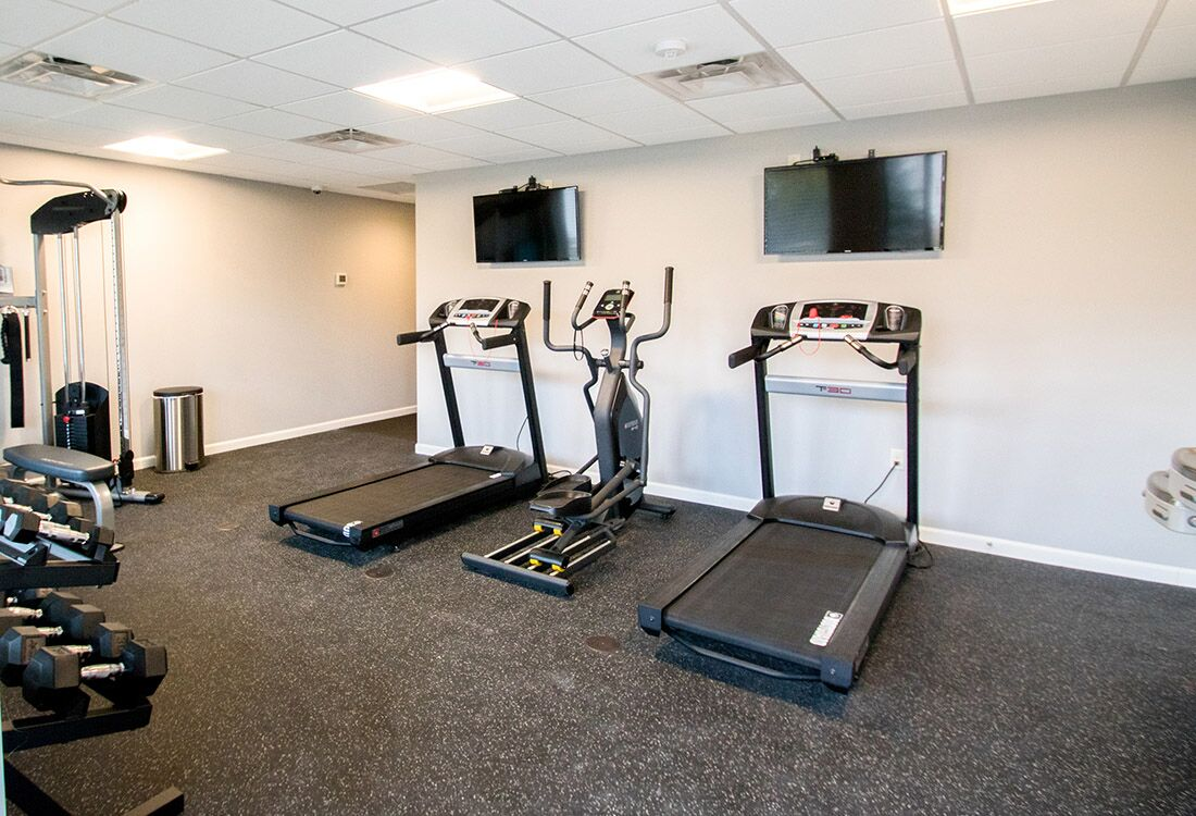 Cardio Equipment at Chateau at Hillsborough Apartments in Omaha, NE