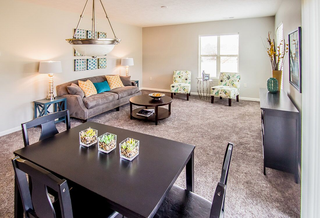 Entertainment Space at Chateau at Hillsborough Apartments in Omaha, NE