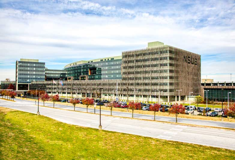 Suitland Federal Center is 10 minutes from Chestnut Hill Apartments in Temple Hills, MD