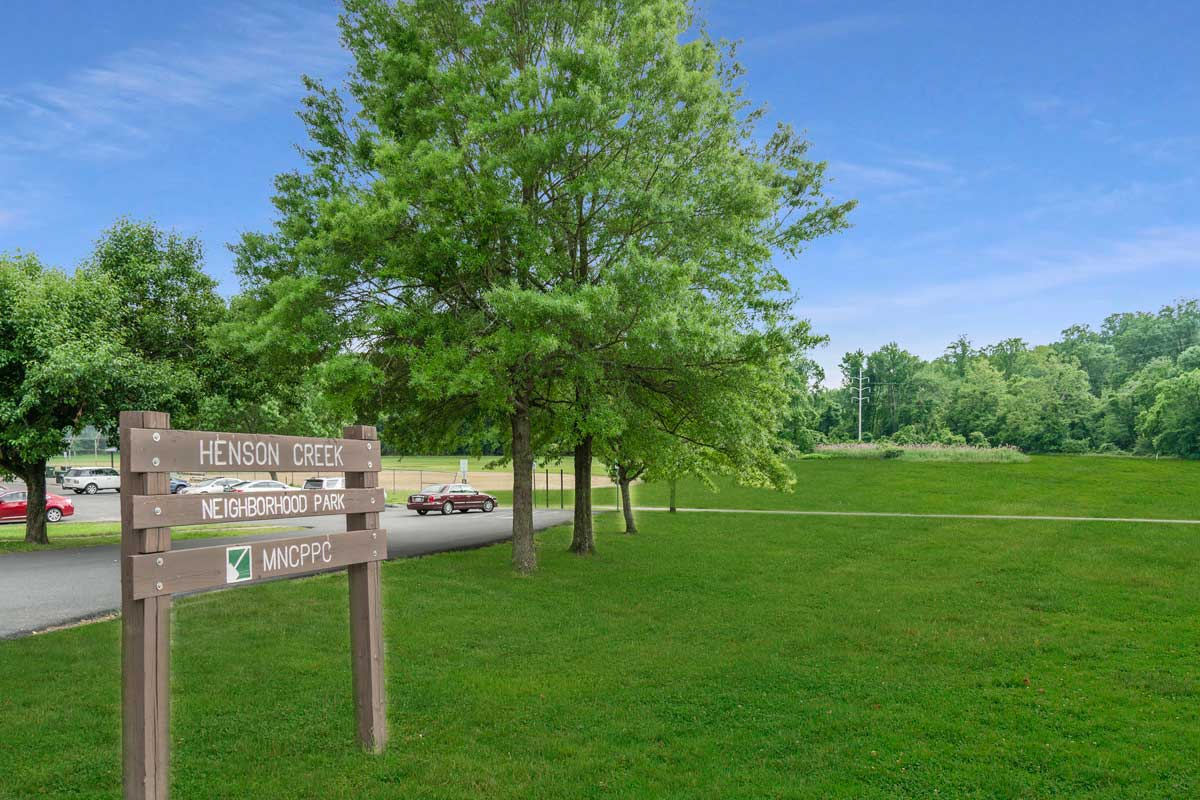 Henson Creek Neighborhood Park is 10 minutes from Chestnut Hill Apartments