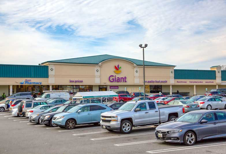 Giant Food is 5 minutes from Chestnut Hill Apartments in Temple Hills, MD