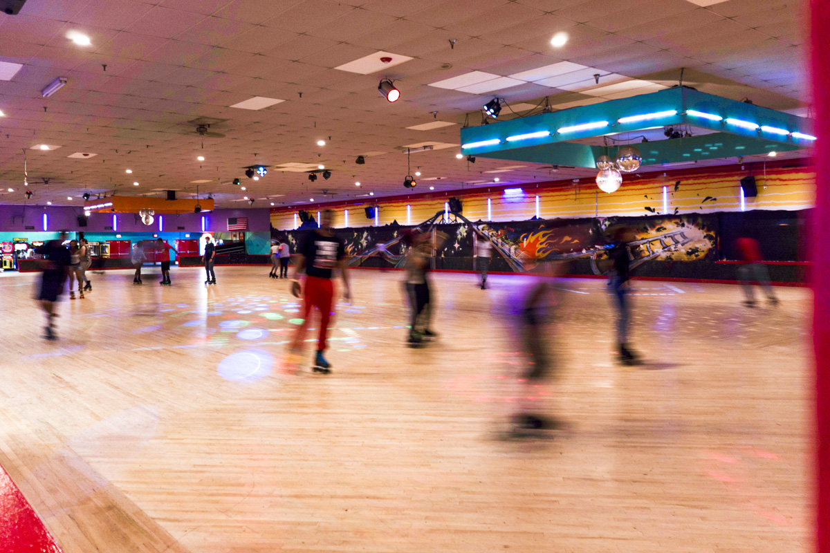 Temple Hills Skate Palace is 5 minutes from Chestnut Hill Apartments