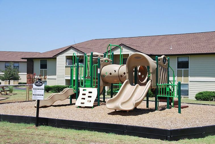 Playground at Chisholm Park Apartments in Oklahoma City, Oklahoma