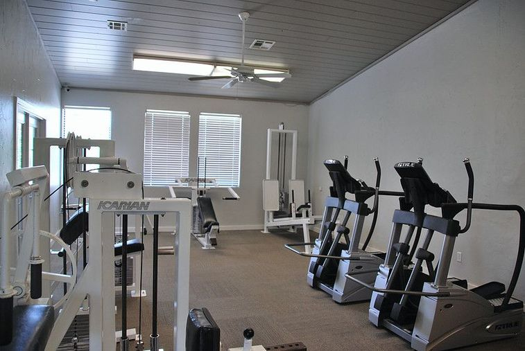 Fitness Center at Chisholm Park Apartments in Oklahoma City, Oklahoma