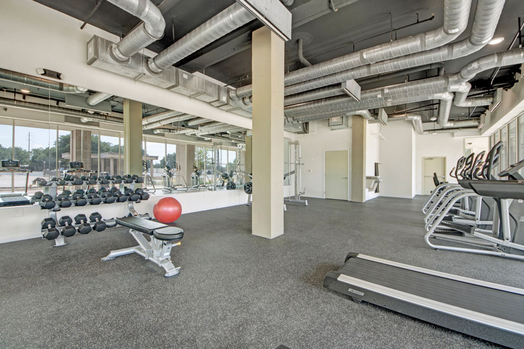 State of the Art Fitness at City Square Lofts Apartments in Garland, TX