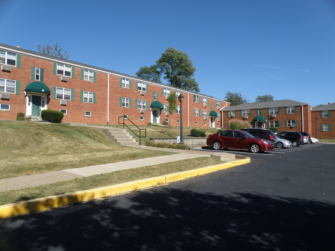 Apartment Buildings at Cloverleaf Village Apartments in Pittsburgh, PA