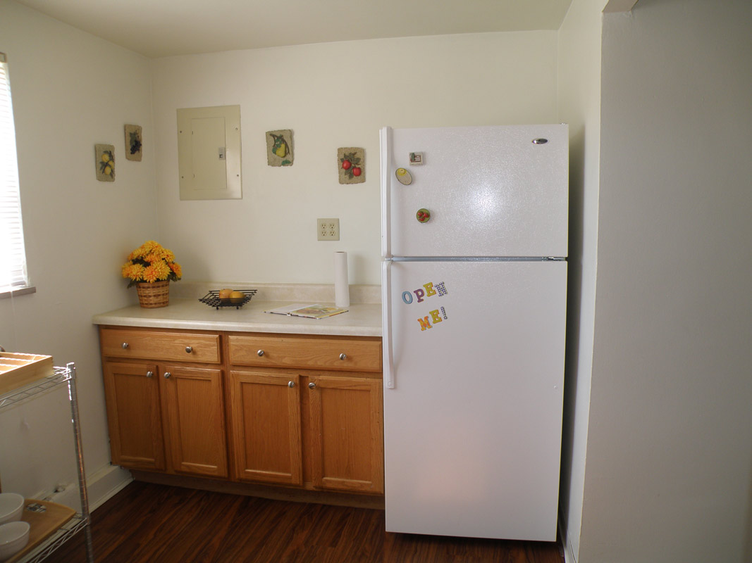 Kitchen at Cloverleaf Village Apartments in Pittsburgh, PA