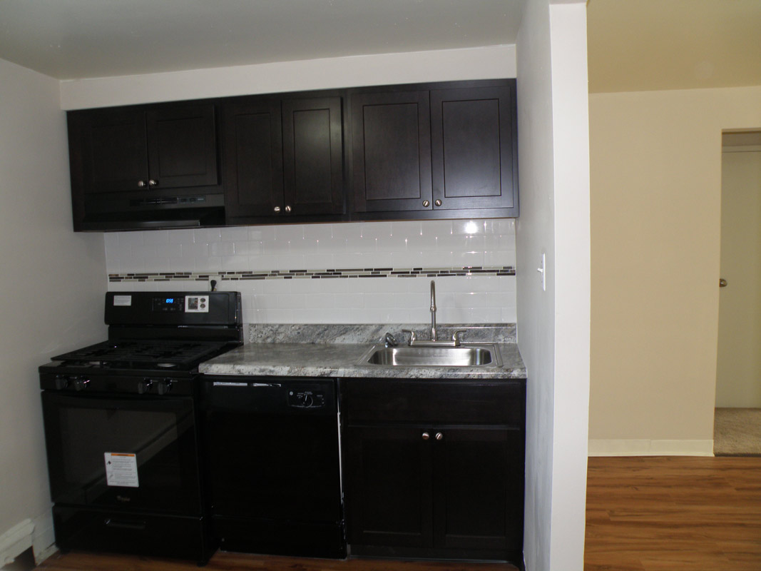 Apartment Unit Kitchen at Cloverleaf Village Apartments in Pittsburgh, PA
