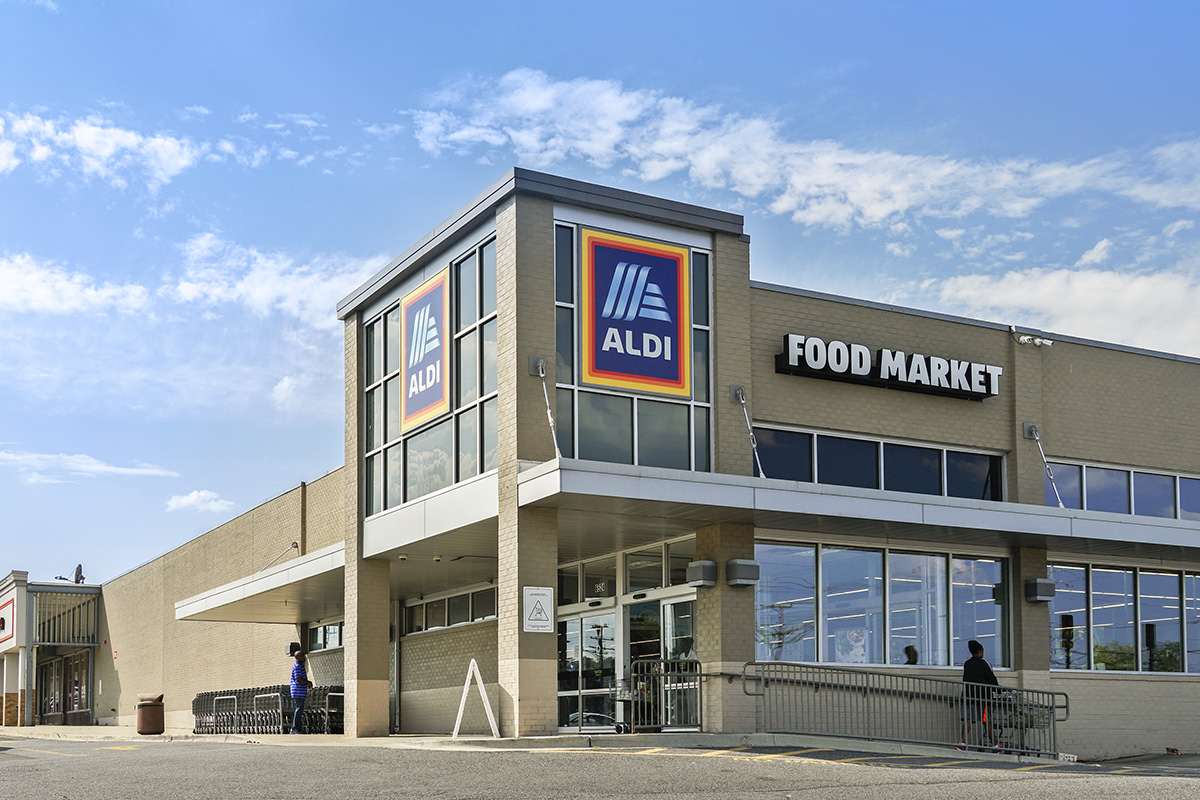 Aldi is 5 minutes from Columbia Park Apartments in Landover, MD