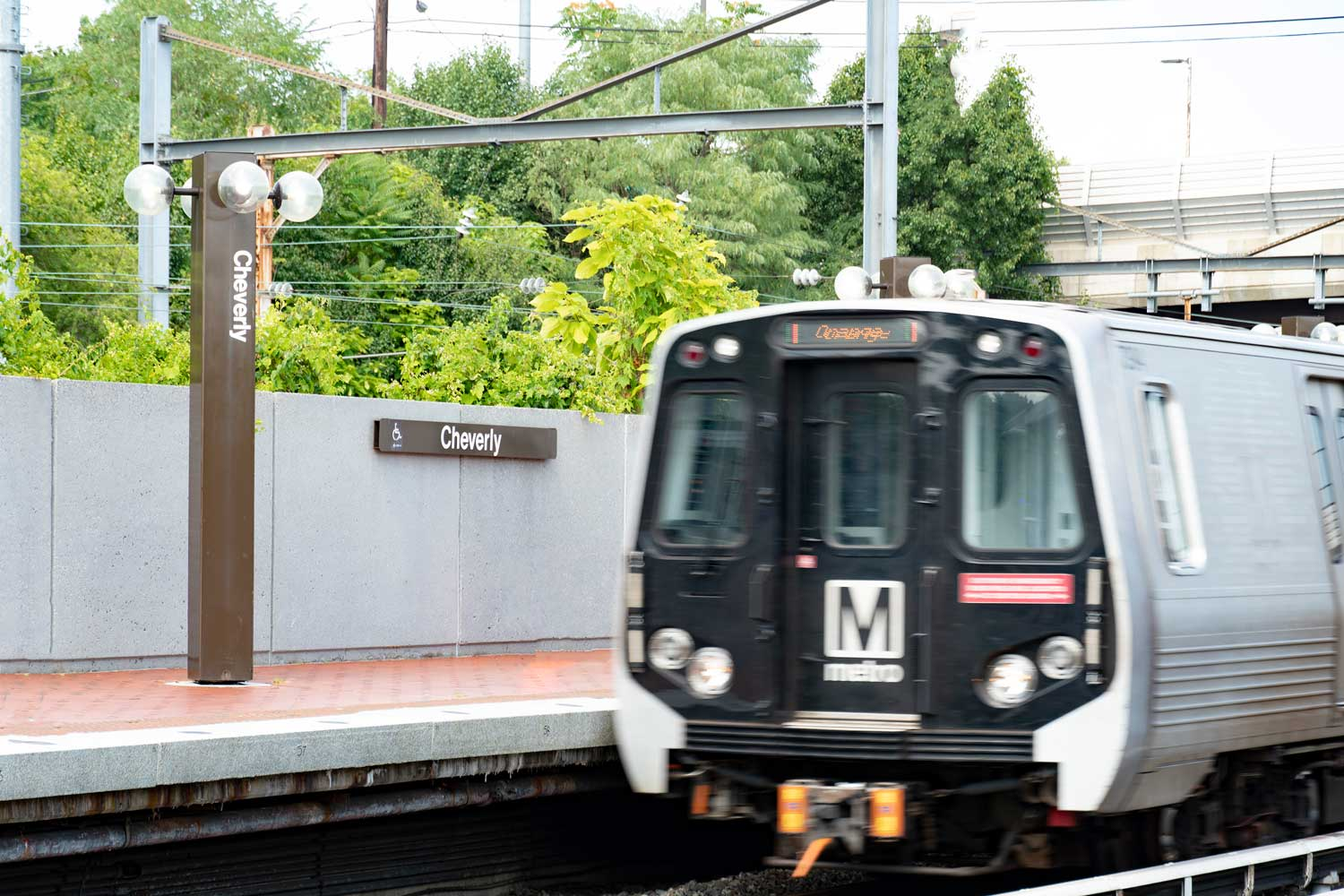 Cheverly Metro Station 5 minutes from Columbia Park Apartments in Landover, MD