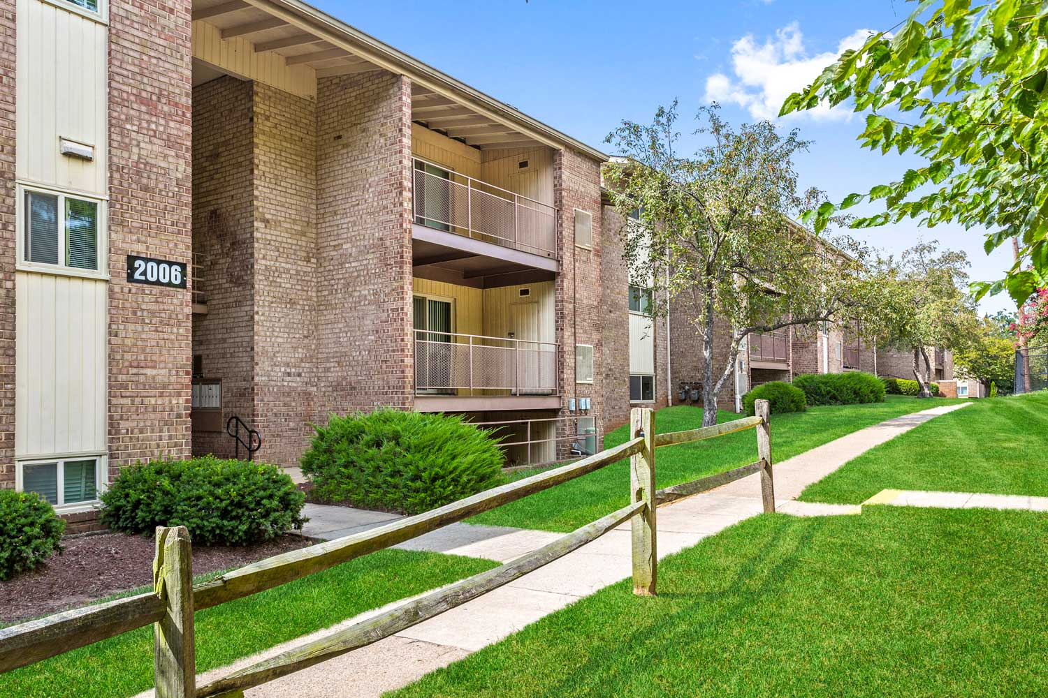 1, 2 and 3-bedroom apartments at Columbia Park Apartments in Landover, MD
