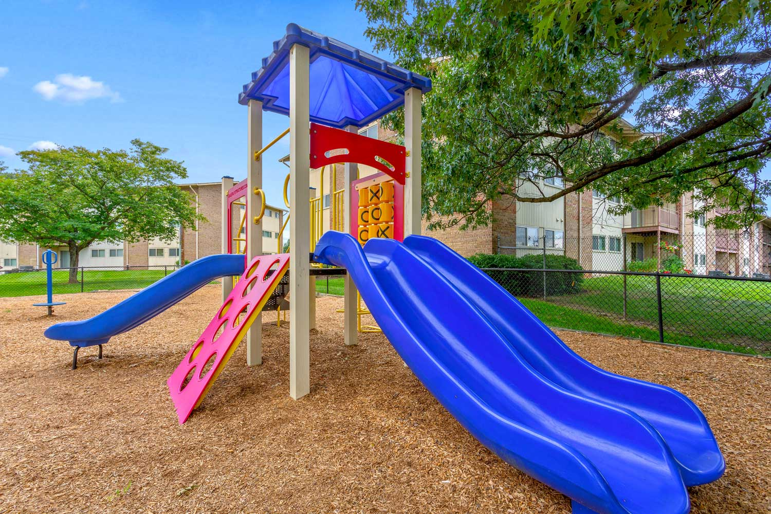 Play area at Columbia Park Apartments in Landover, MD