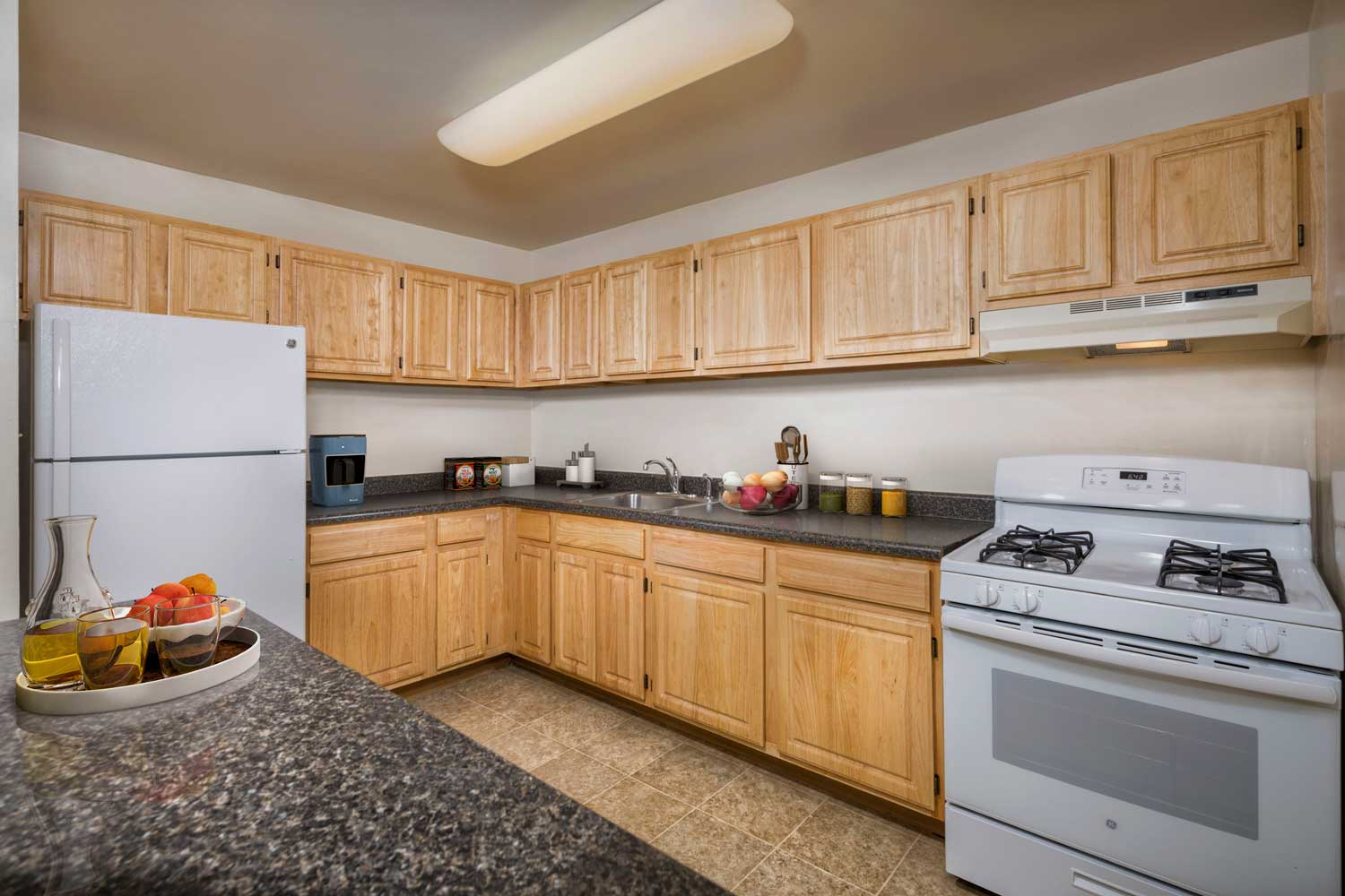 Well-equipped kitchen at Columbia Park Apartments in Landover, MD