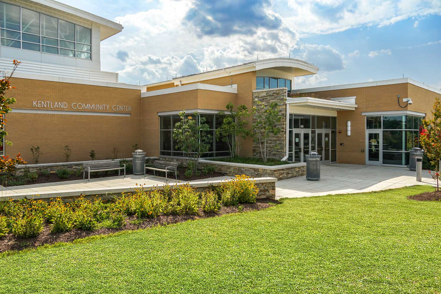 Kentland Community Center is 5 minutes from Columbia Park Apartments
