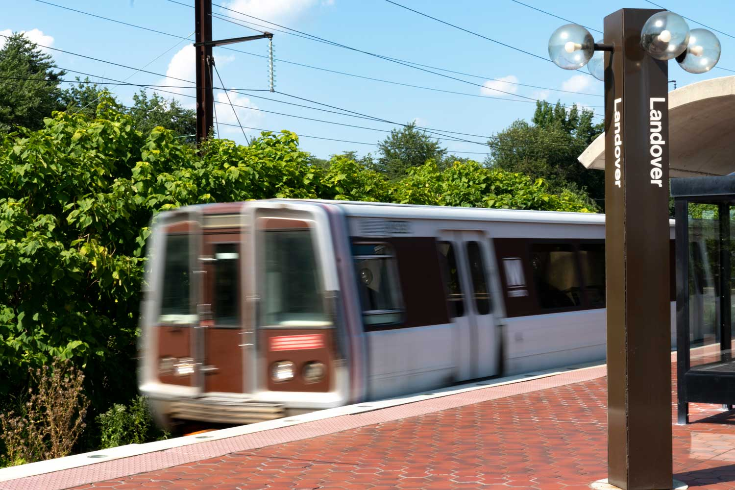 Landover Metro station is 5 minutes from Columbia Park Apartments in Landover, MD
