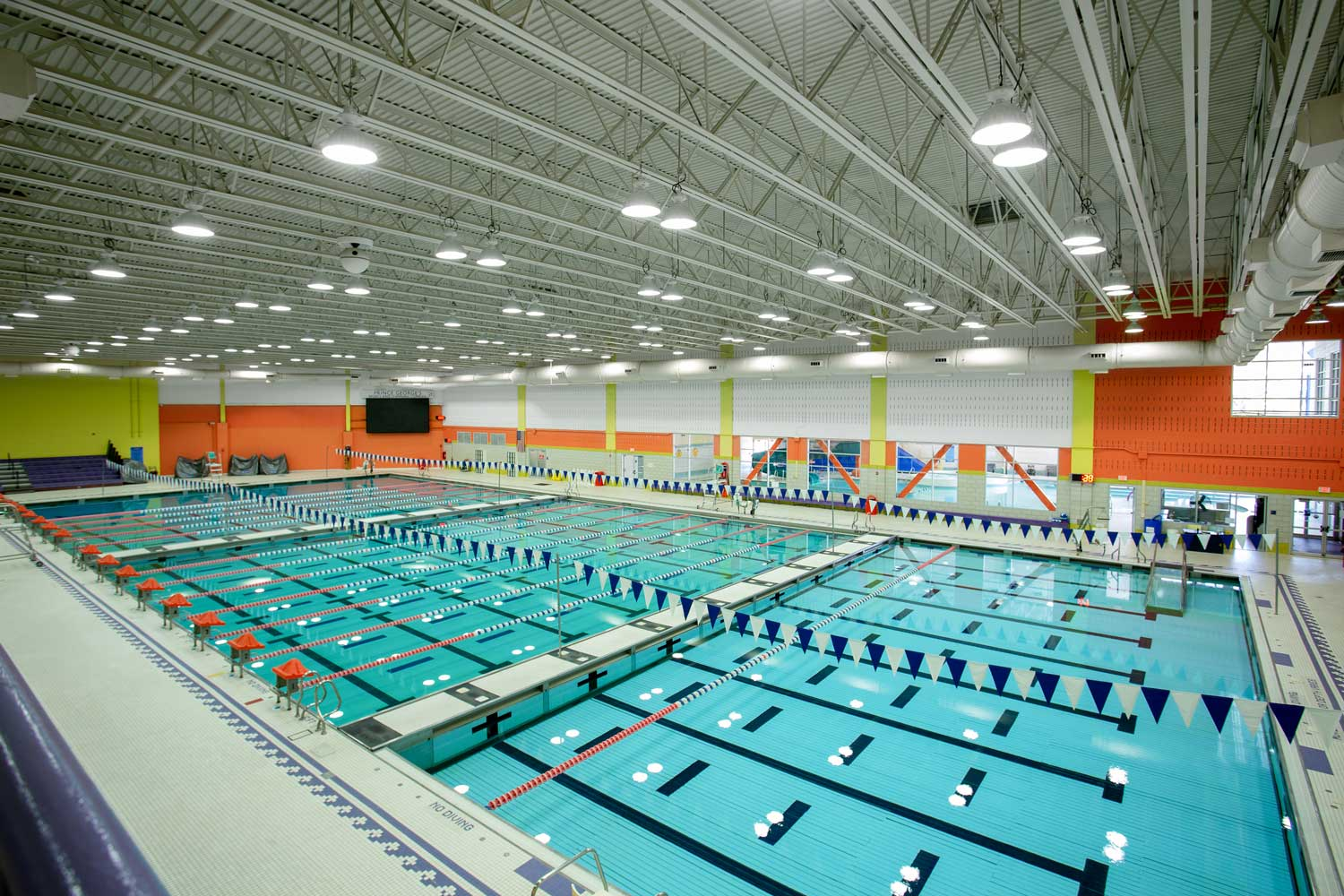 5 minutes to Prince George's Sports & Learning Complex in Landover, MD