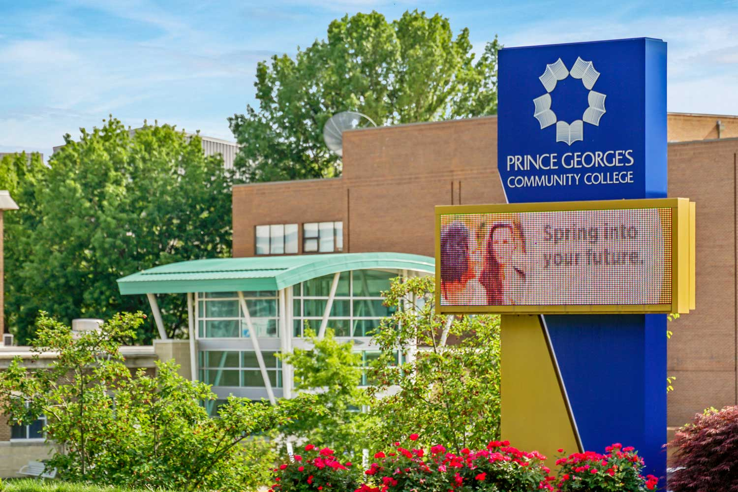 Prince George's Community College is 10 minutes from Columbia Park Apartments