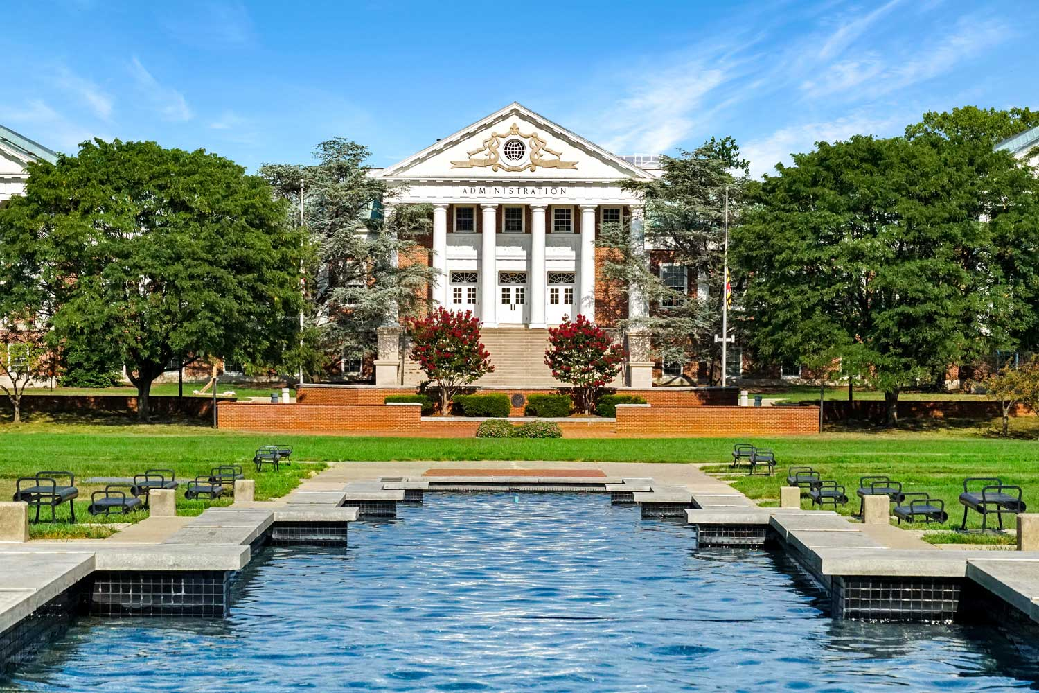 20 minutes to University of Maryland, College Park