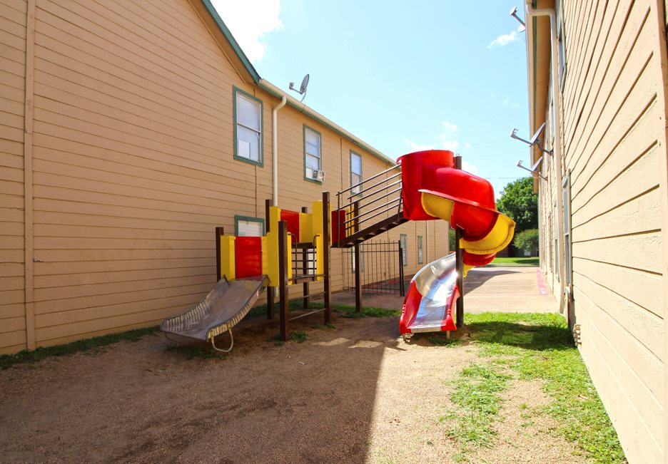 Playground at Columbia Villas Apartments in Dallas, Texas
