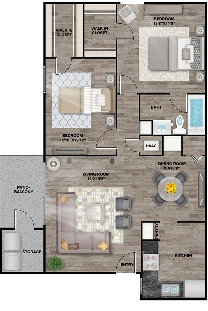 Floorplan - Merrill image