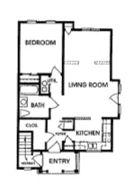 Cornhill Townhouse and Garden Apartments - Floorplan - C