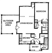 Cornhill Townhouse and Garden Apartments - Floorplan - A