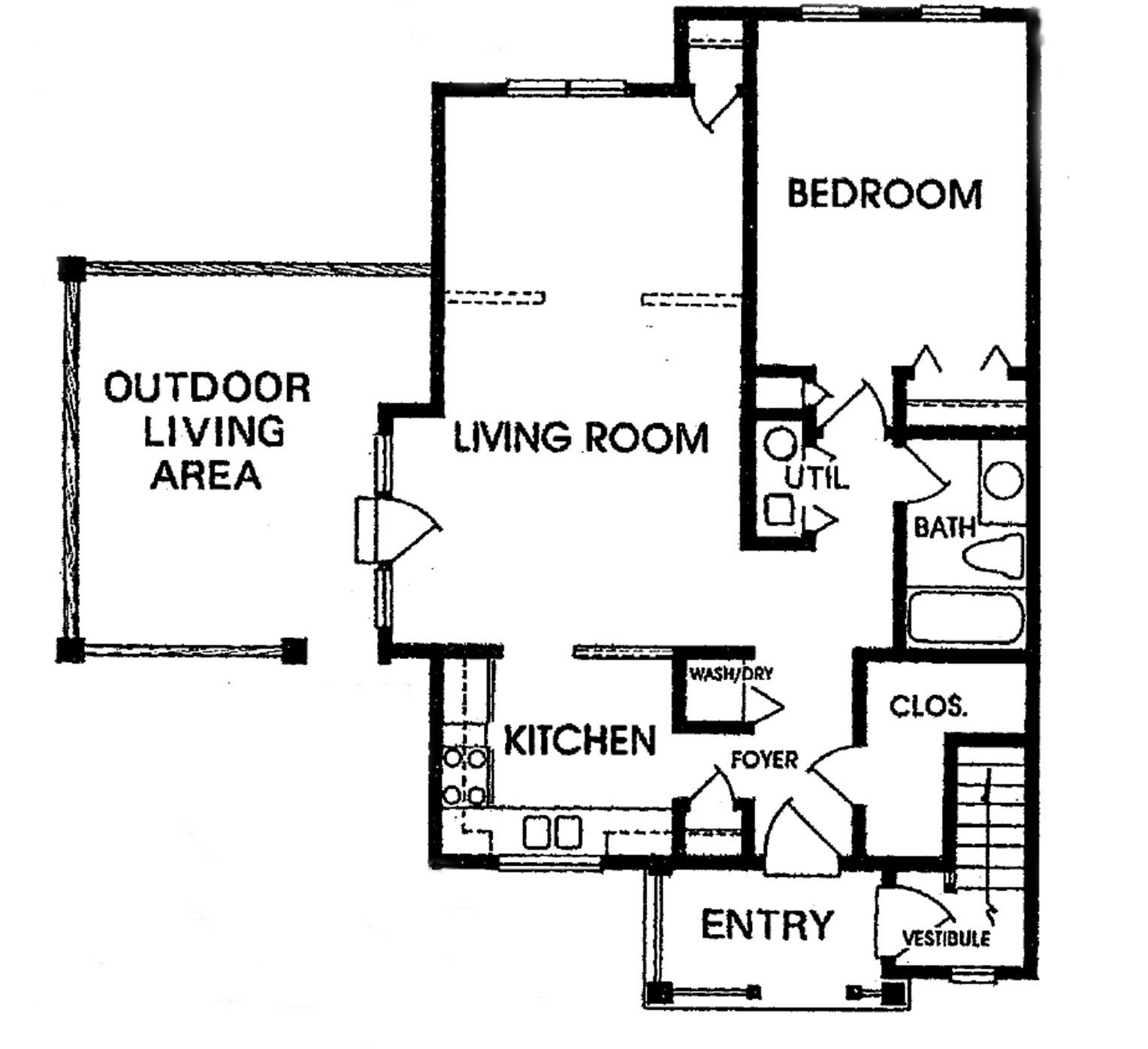 Cornhill Townhouse and Garden Apartments - Floorplan - Apartment - Lower & Upper