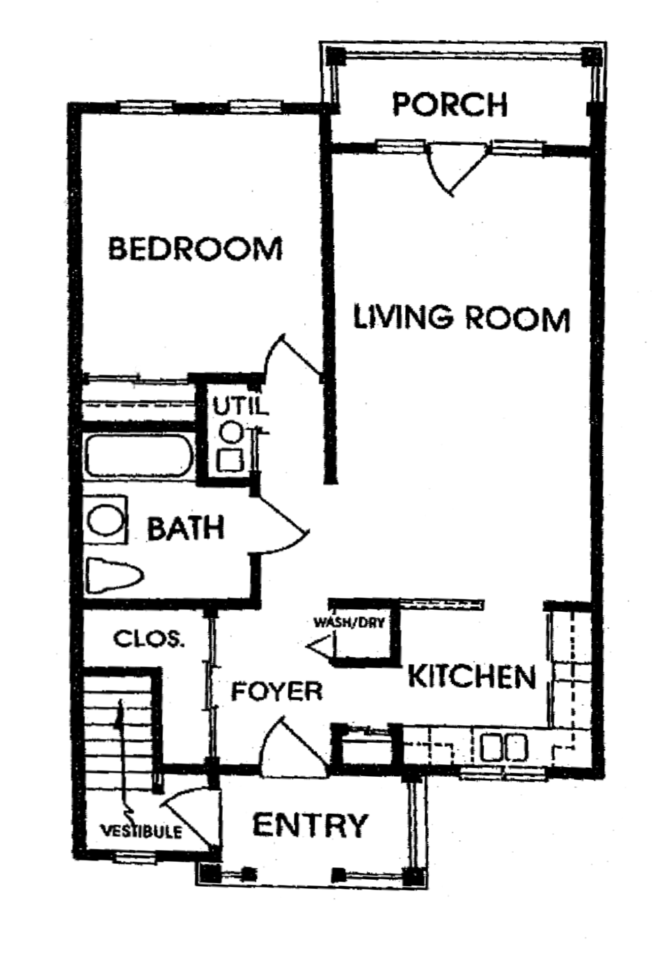 Cornhill Townhouse and Garden Apartments - Floorplan - B