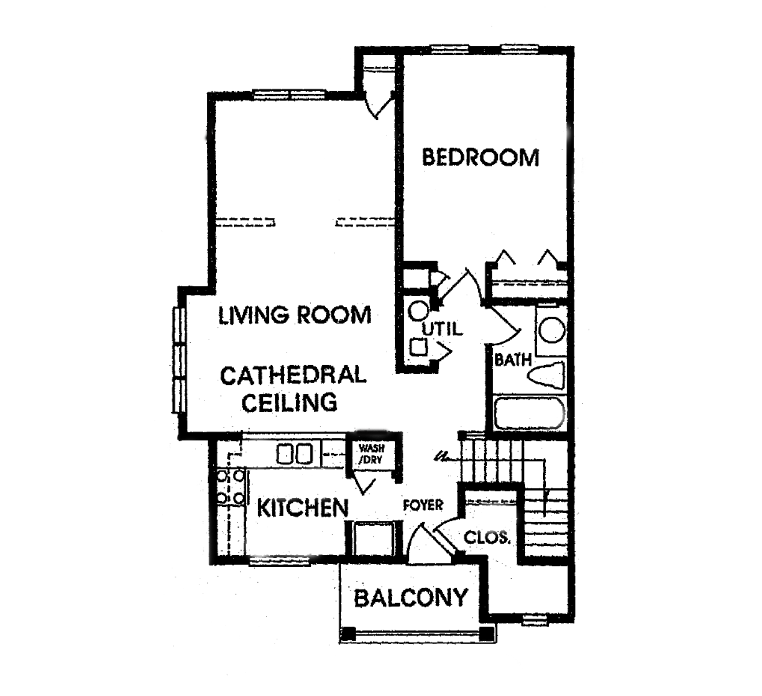 Cornhill Townhouse and Garden Apartments - Floorplan - D