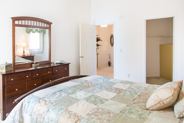Walk-In Closets at Cornhill Townhouse and Garden Apartments in Rochester, New York