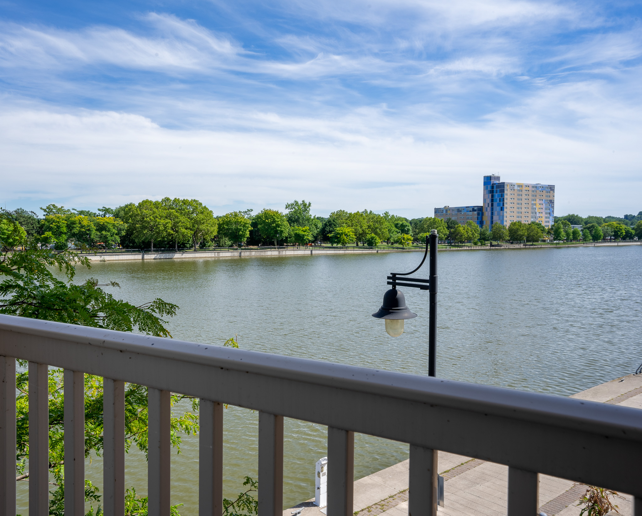 View at the Cornhill Landing Apartments in Rochester, NY