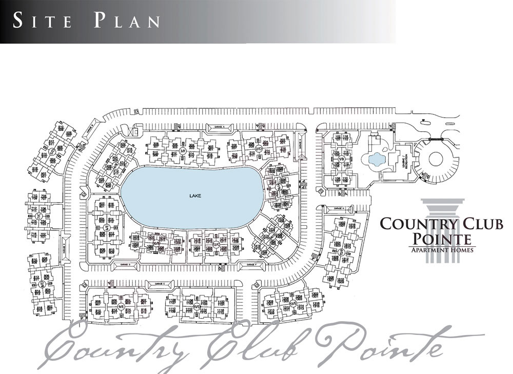 Country Club Pointe Site Plan